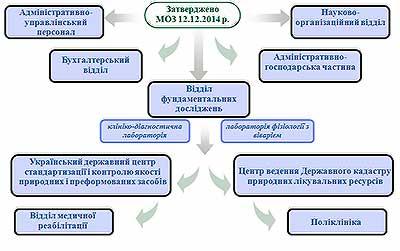 Структура інституту